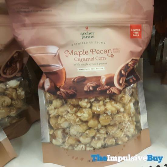 Archer Farms Limited Edition Maple Pecan Caramel Corn