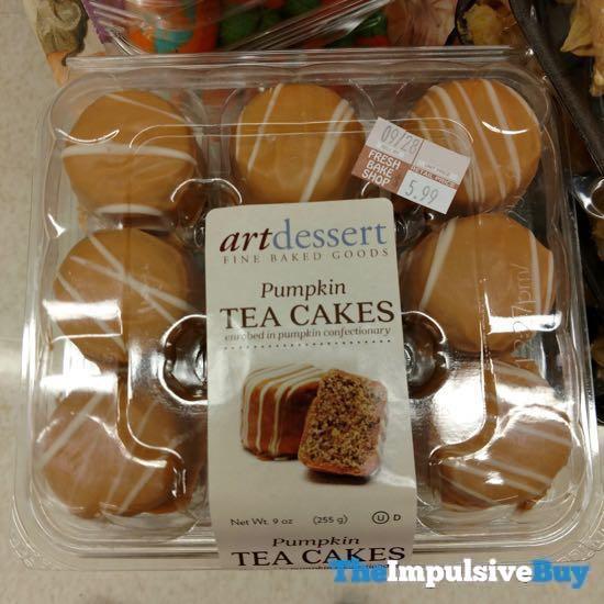 Art Dessert Pumpkin Tea Cakes