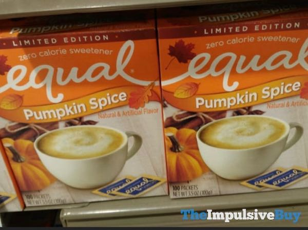 Equal Limited Edition Pumpkin Spice Zero Calorie Sweetener