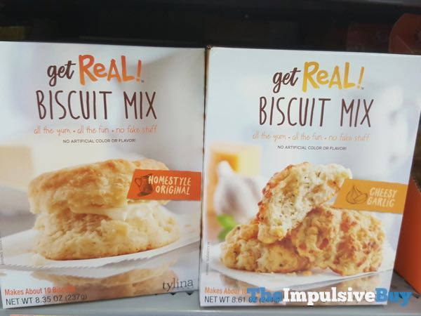 Get Real Biscuit Mixes  Homestyle Original and Cheesy Garlic
