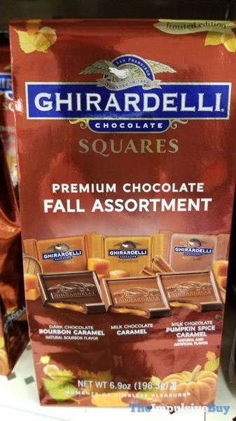 Ghirardelli Squares Premium Chocolate Fall Assortment