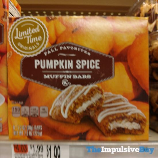 Giant Limited Time Originals Pumpkin Spice Muffin Bars