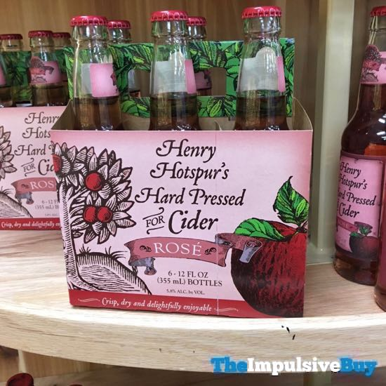 Henry s Hotspur s Hard Pressed for Cider Rose
