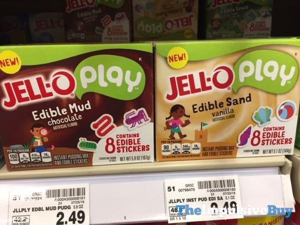 Jello Play Edible Mud and Edible Sand