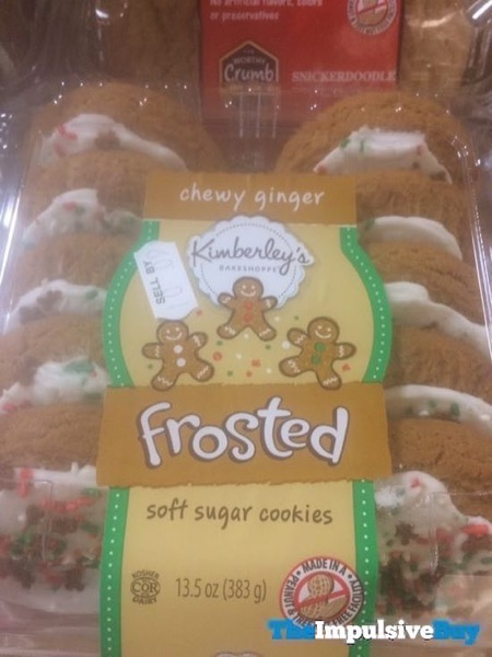 Kimberley s Bakeshoppe Chewy Ginger Frosted Soft Sugar Cookies