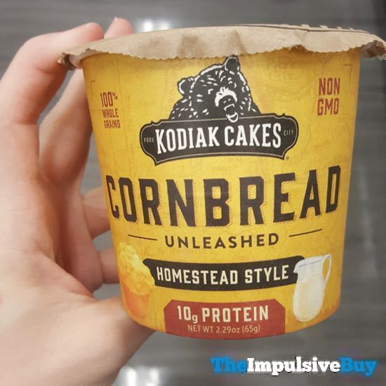 Kodiak Cakes Homestead Style Cornbread Unleashed