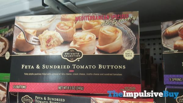 Kroger Private Selection Feta  Sundried Tomato Buttons