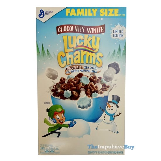 Limited Edition Chocolatey Winter Lucky Charms Cereal