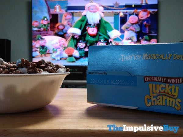 Limited Edition Chocolatey Winter Lucky Charms Cereal 5