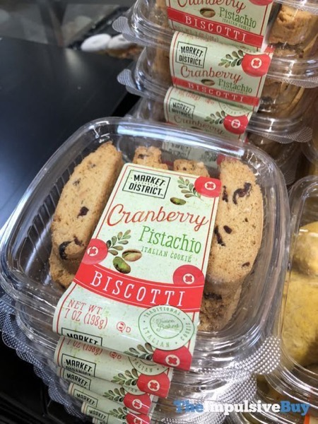 Market District Cranberry Pistachio Biscotti