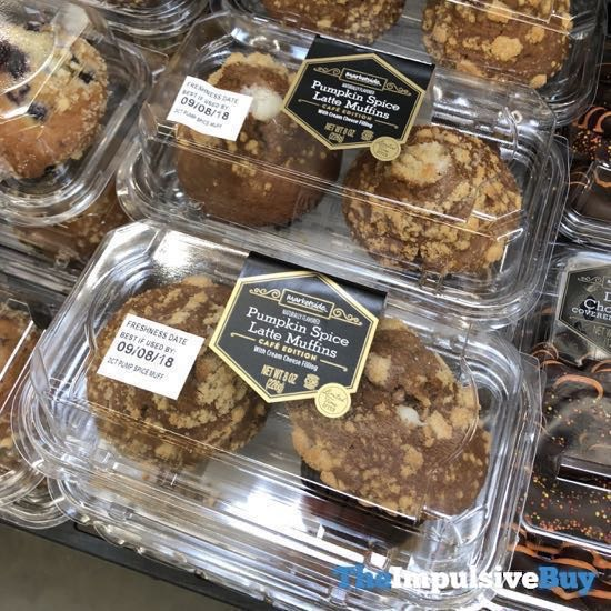 Marketside Cafe Edition Pumpkin Spice Latte Muffins