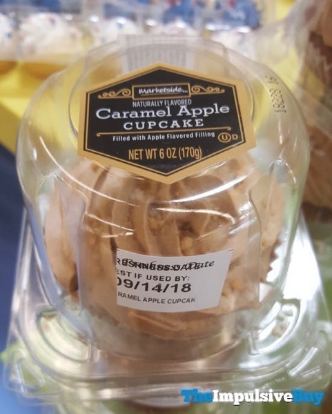 Marketside Caramel Apple Cupcake