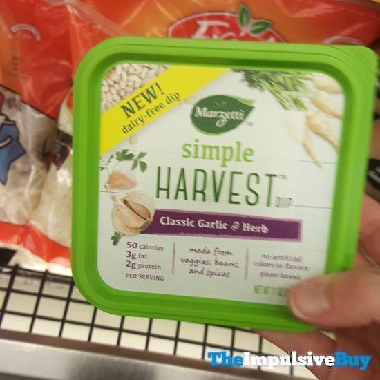 Marzetti Simple Harvest Dip Classic Garlic  Herb