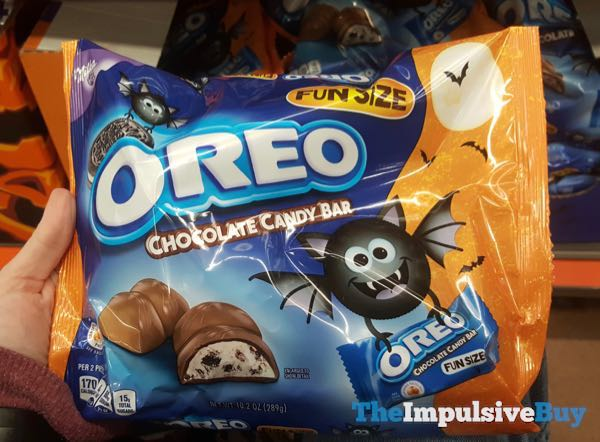 Milka Oreo Chocolate Candy Bar Halloween Design