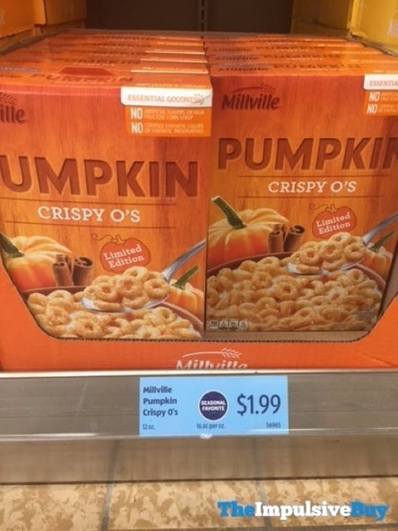 Millville Limited Edition Pumpkin Crispy O s Cereal