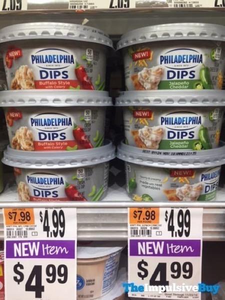 Philadelphia Dips  Buffalo Style and Jalapeno Cheddar