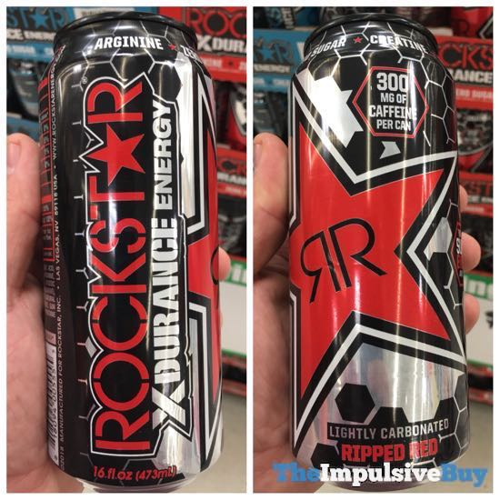 Rockstar XDurance Ripped Red Energy Drink