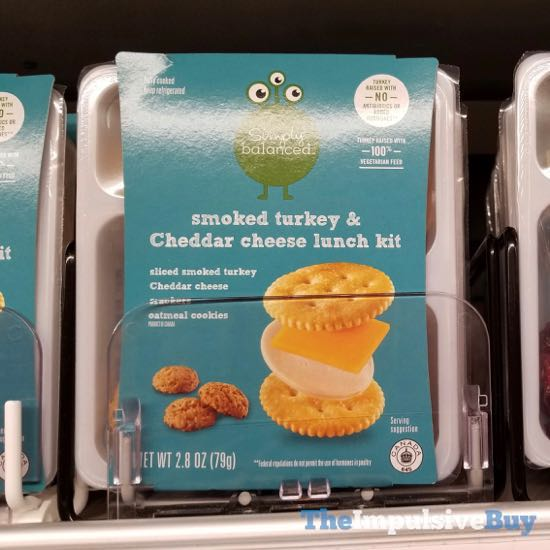 Simply Balanced Smoked Turkey  Cheddar Cheese Lunch Kit