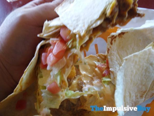 Taco Bell Chipotle Triple Double Crunchwrap 3