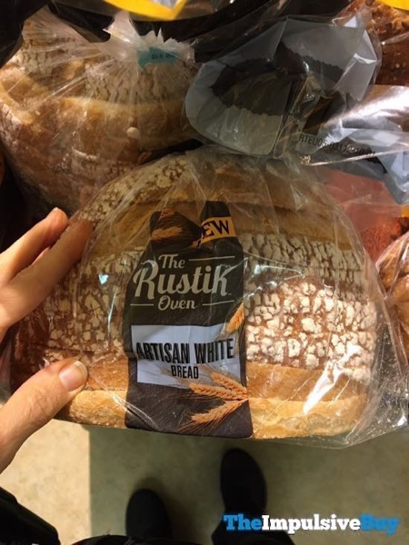 The Bustik Over Artisan White Bread