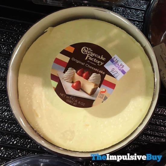 The Cheesecake Factory at Home Original Cheesecake