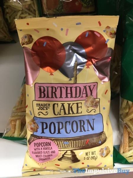 Trader Joe S Birthday Cake Popcorn