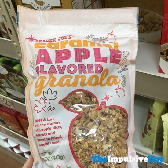Trader Joe s Caramel Apple Flavored Granola