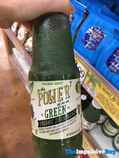 Trader Joe s To The Power of Seven Green Organic Juice Blend