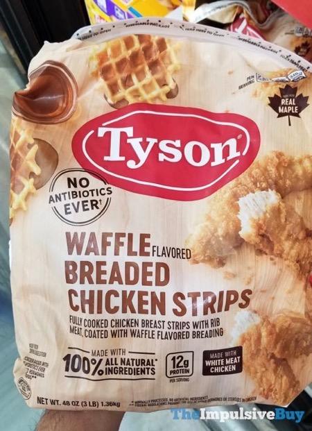 Tyson Waffle Breaded Chicken Strips