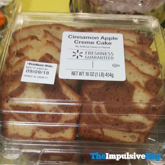 Walmart Cinnamon Apple Creme Cake