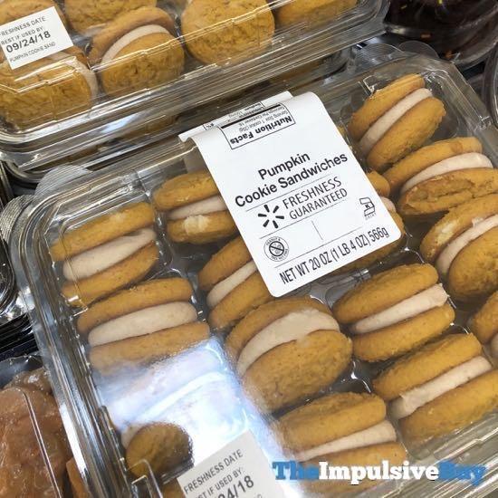 Walmart Pumpkin Cookie Sandwiches