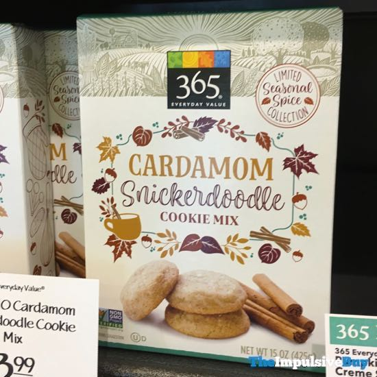365 Everyday Value Seasonal Spice Cardamom Snickderdoole Cookie Mix