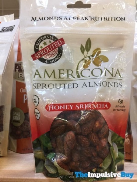 Americona Sprouted Almonds Honey Sriracha