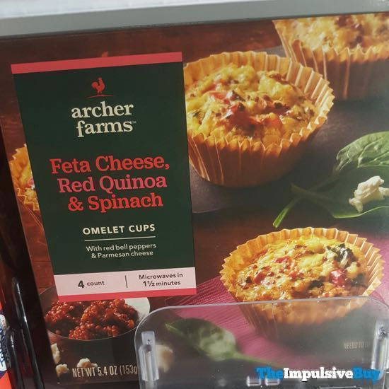 Archer Farms Feta Cheese Red Quinoa  Spinach Omelet Cups