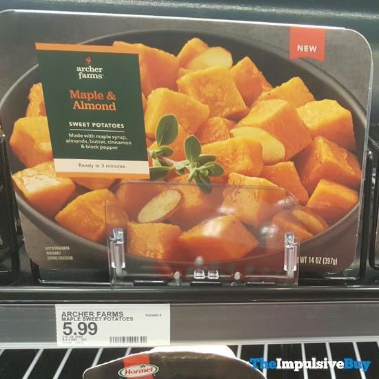Archer Farms Maple  Almond Sweet Potatoes