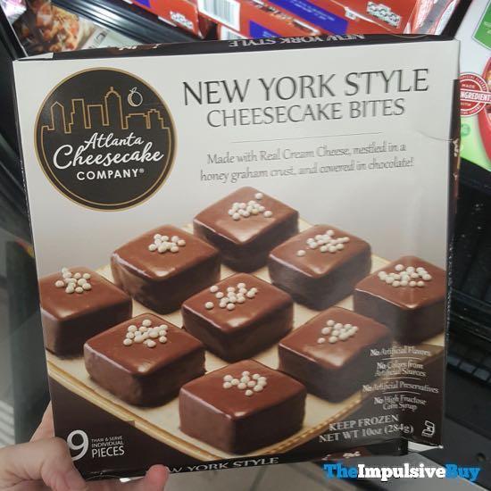 Atlanta Cheesecake Company New York Style Cheesecake Bites