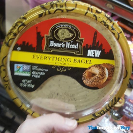 Boar s Head Everything Bagel Hummus