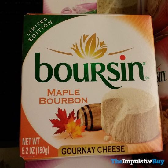 Boursin Limited Edition Maple Bourbon Gournay Cheese
