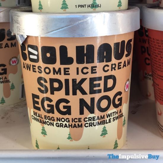 Coolhaus Spiked Egg Nog Ice Cream