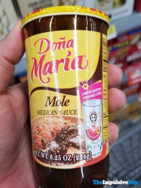 Dona Maria Mole Mexican Sauce in Limited Edition Cups