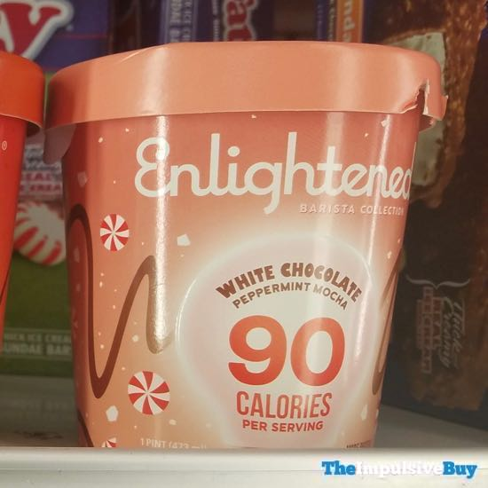 Enlightened Barista Collection White Chocolate Peppermint Mocha Ice Cream