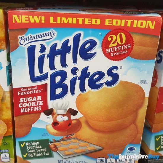 Entenmann s Limited Edition Little Bites Seasonal Favorites Sugar Cookie Muffins