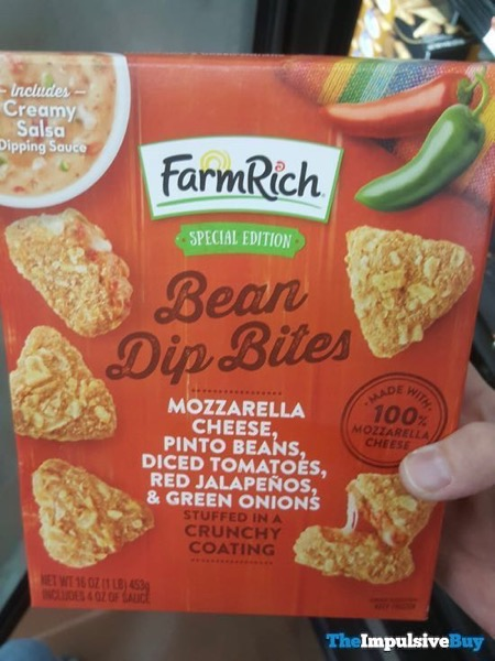 Farm Rich Special Edition Bean Dip Bites