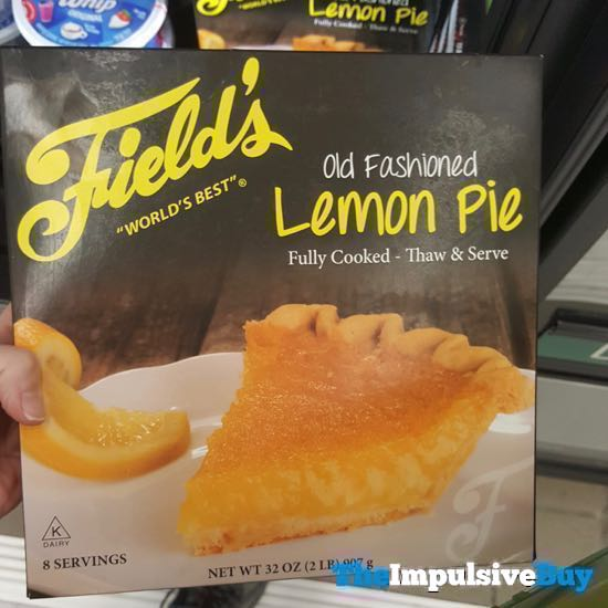 Field s World s Best Old Fashioned Lemon Pie