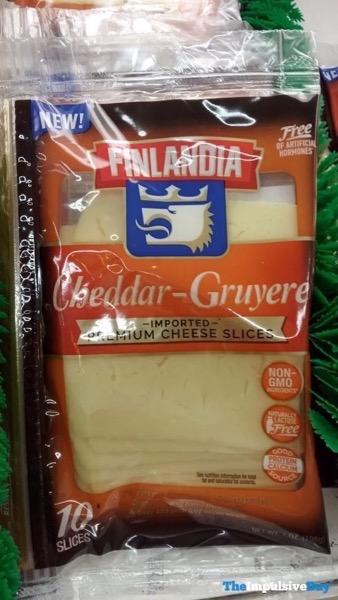 Finlandia Cheddar Gruyera Imported Premium Cheese Slices