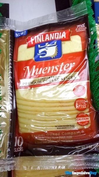 Finlandia Muenster Imported Premium Cheese Slices
