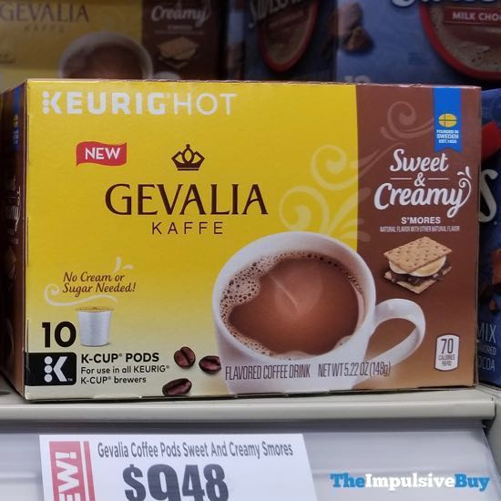 Gevalia Kaffe Sweet  Creamy S mores K Cups