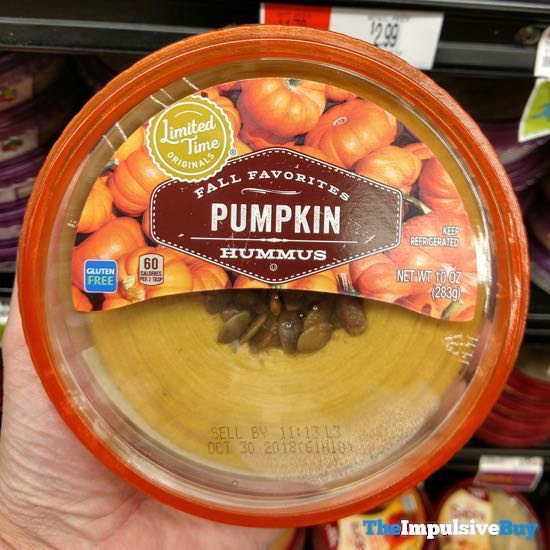 Giant Limited Time Originals Pumpkin Hummus