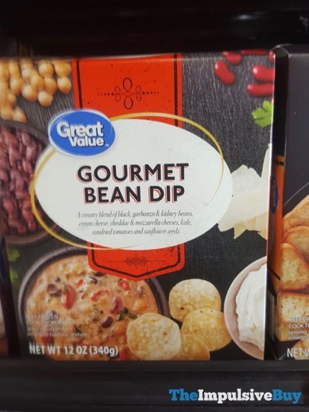 Great Value Gourmet Bean Dip