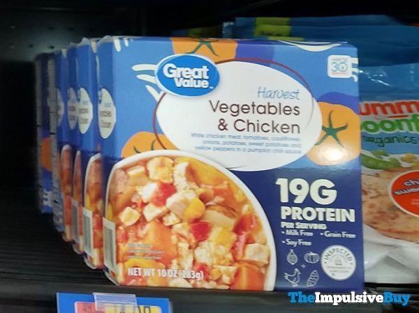 Great Value Harvest Vegetables  Chicken